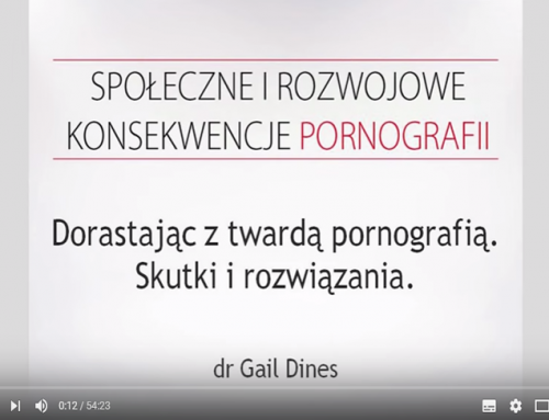Konferencja społeczna i rozwojowa o pornografii – Gail Dines
